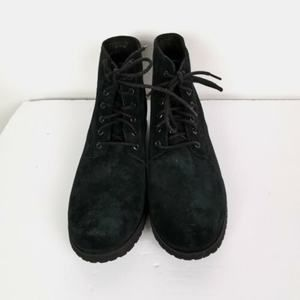 Ugg Charcoal Black Suede Leather Chukka Boots New
